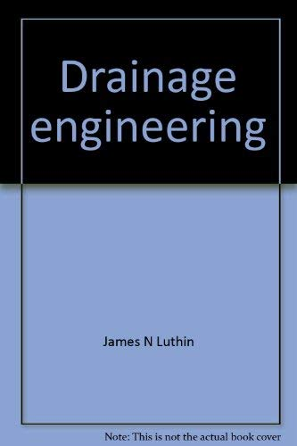 9780882750941: Drainage engineering