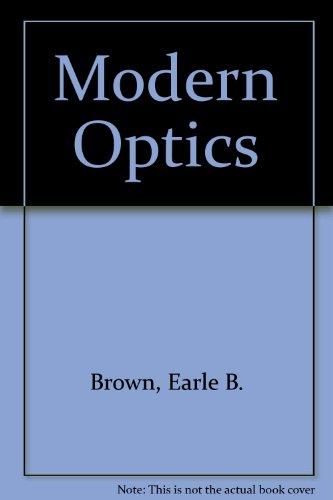 9780882751498: Modern Optics