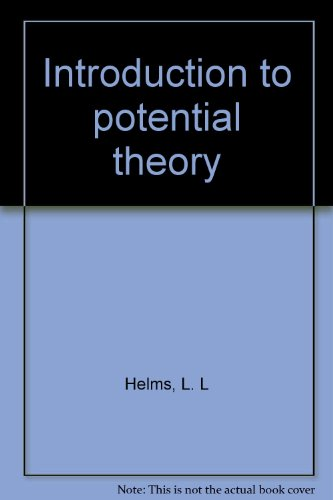INTRODUCTION TO POTENTIAL THEORY.: Helms, L. L.