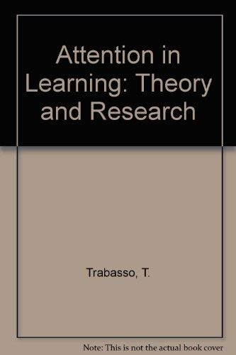 9780882752310: Attention in Learning: Theory and Research