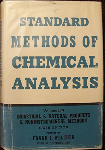 9780882752549: Standard Methods of Chemical Analysis
