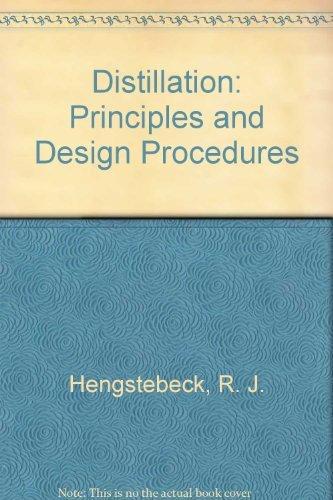 9780882752822: Distillation: Principles and Design Procedures