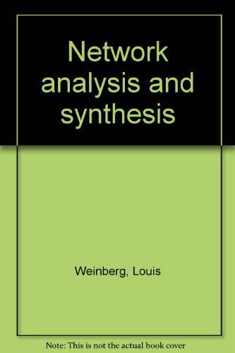 9780882753218: Network Analysis and Synthesis