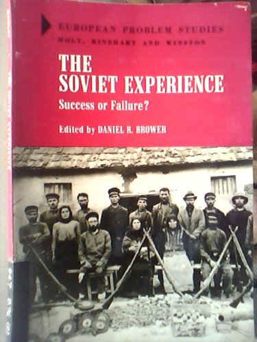 9780882753362: The Soviet Experience: Success or Failure?