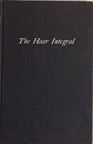 9780882753744: The Haar integral