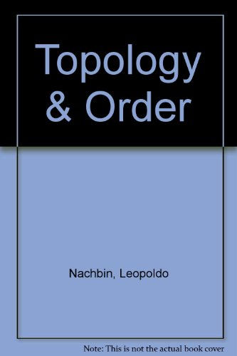 9780882753874: Topology & Order