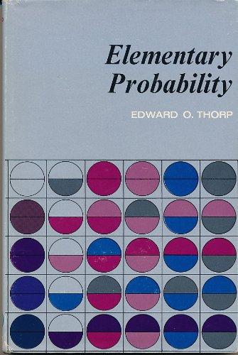 9780882753898: Elementary Probability