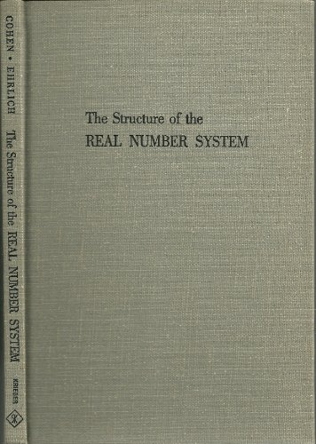 9780882753966: The structure of the real number system