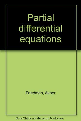 9780882754055: Partial differential equations