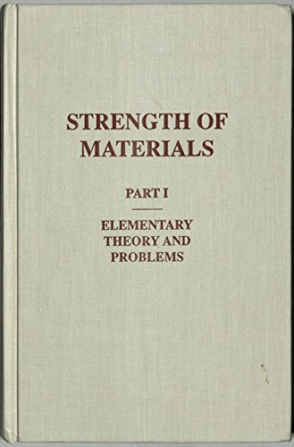 9780882754208: Strength of Materials: Elementary Theory and Problems v. 1