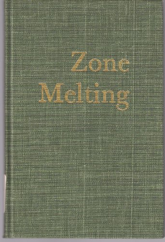 9780882755410: Zone Melting