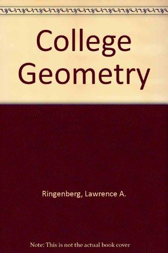 9780882755458: College Geometry