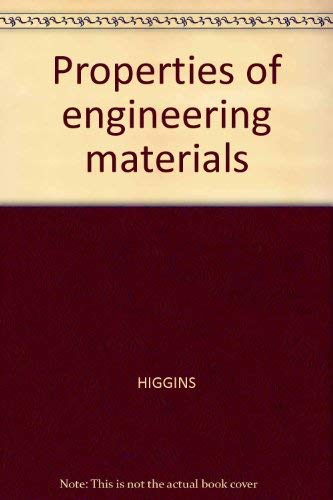 9780882755755: Properties of engineering materials