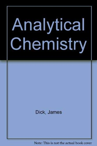 9780882755809: Analytical Chemistry