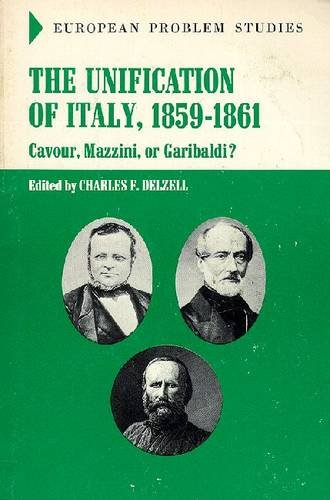 9780882756585: The Unification Italy: 1859-1861 (European Problem Studies) (European Problem Studies)