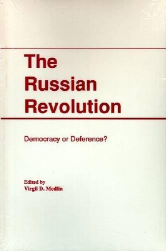 9780882759371: Russian Revolution (European problem studies)