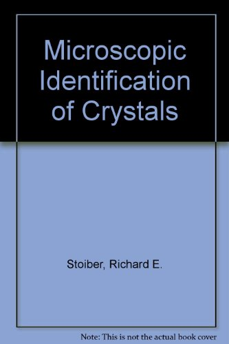 9780882759753: Microscopic Identification of Crystals