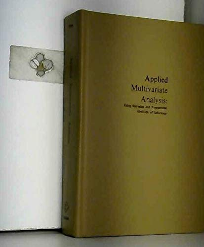 9780882759760: Applied Multivariate Analysis