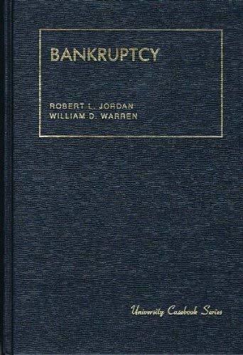 Bankruptcy: Robert L. Jordan;
