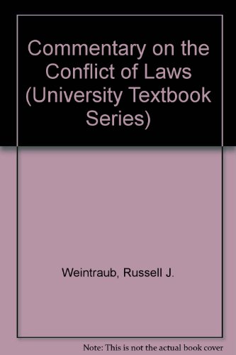 Conflict of Laws Textbook