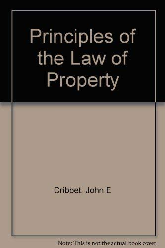 9780882775005: Principles of the Law of Property