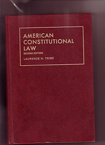 9780882776019: American Constitutional Law (University Textbook Series)