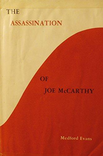 9780882792170: Assassination of Joe McCarthy