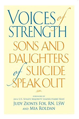 9780882823331: Voices of Strength: Sons and Daughters of Suicide Speak Out