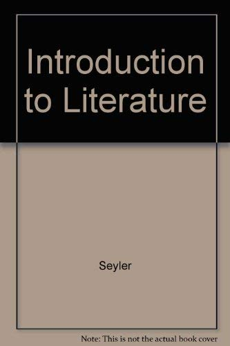 9780882841137: Introduction to Literature
