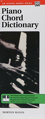 9780882841540: Piano Chord Dictionary