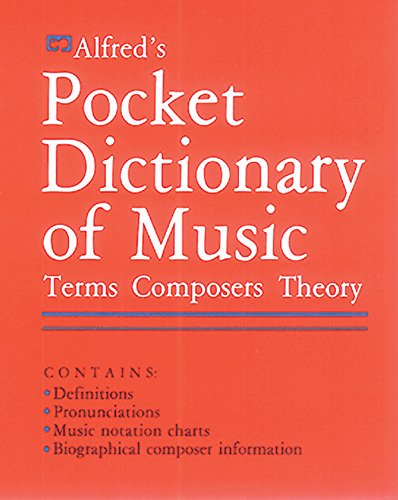 9780882843490: Alfred's Pocket Dictionary of Music