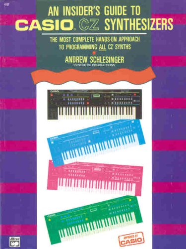 9780882843674: An Insider's Guide to Casio CZ Synthesizers