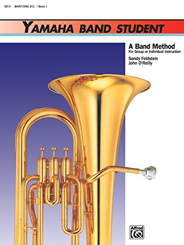 9780882844046: Yamaha Band Student, Bk 1: Baritone B.C (Yamaha Band Method)