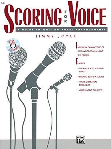 9780882844718: Scoring for Voice: Book & CD