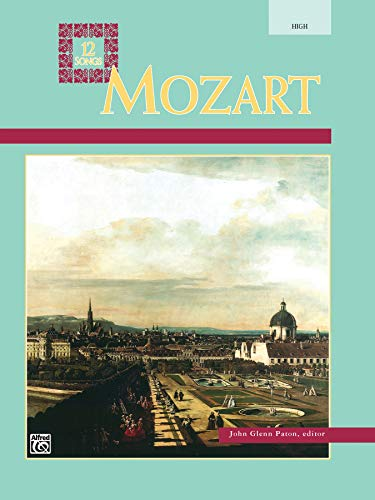 9780882844978: Mozart -- 12 Songs: High Voice