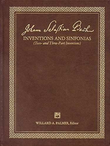 9780882845258: Bach -- 2 & 3 Part Inventions: Leather Bound Book (Alfred Masterwork Edition)