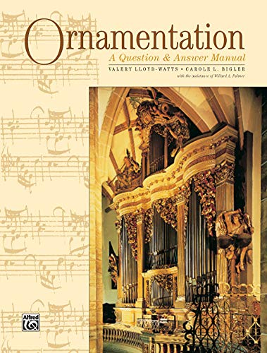 9780882845494: Ornamentation: A Question & Answer Manual