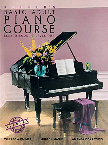 9780882846163: Alfred's Basic Adult Piano Course: Lesson Book, Level One