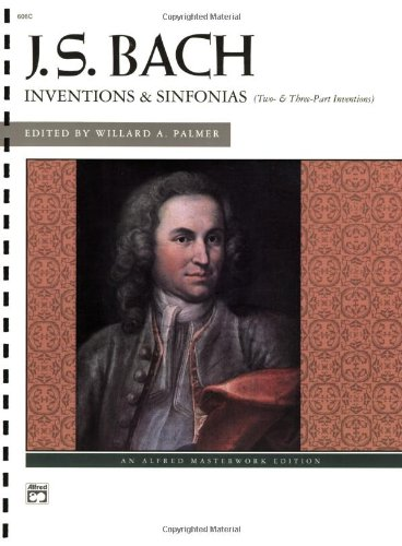 9780882846262: J.S.Bach - Inventions and Sinfonias: Two- and Three-Part Inventions (Alfred Masterwork Edition)