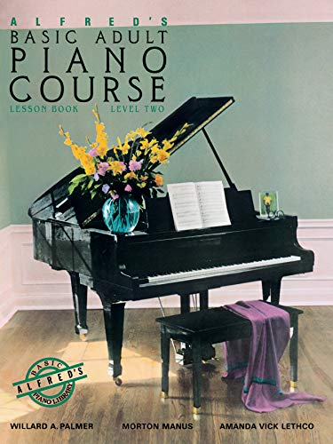 9780882846347: Alfred's Basic Adult Piano Course : Lesson Book, Level Two