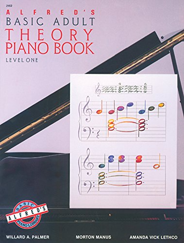 9780882846354: Alfred's Basic Adult Theory Piano Book: Level One (2462)