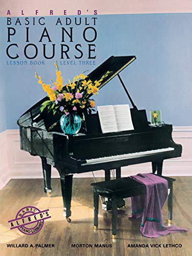 9780882846361: Alfred's Basic Adult Piano Course Lesson Book, Bk 3