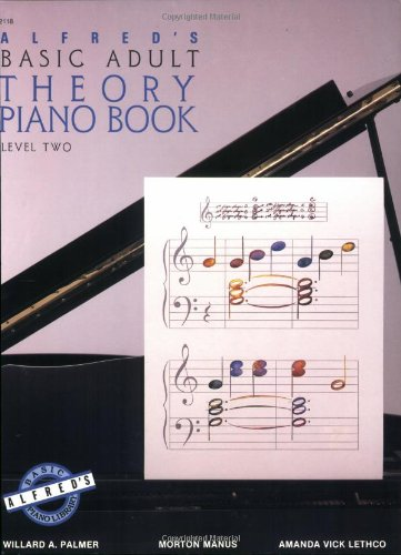 9780882846378: Alfred's Basic Adult Piano Course Theory, Bk 2