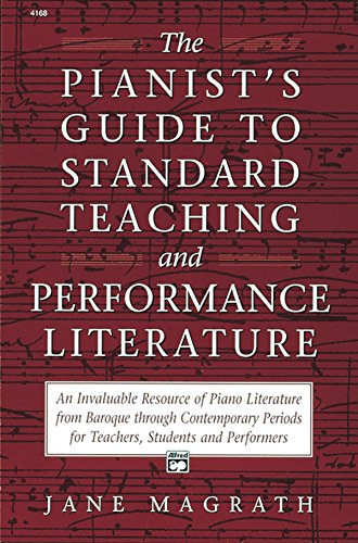 9780882846552: Pianists Guide to Standard Teaching and Performance Literature