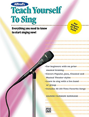 9780882846651: Alfreds Teach Yourself to Sing With Ecd