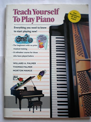 9780882846736: Teach Yourself to Play Piano