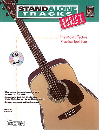 9780882846996: Stand Alone Tracks -- Basic Guitar, Bk 1: The Most Effective Practice Tool Ever, Book & CD