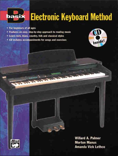9780882847016: Alfred's Basic Electronic Keyboard Course