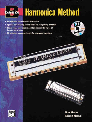 9780882847139: Basix Harmonica Method w/CD