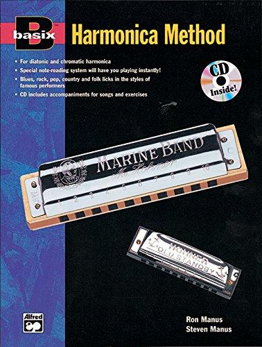 9780882847146: Basix Harmonica Method: Book & Enhanced CD (Basix(R) Series)